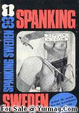 SPANKING SWEDEN 1 - 60s Retro Black & White swedish XXX Extreme Porn Magazine