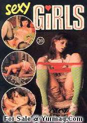 vintage SEXY GIRLS magazine